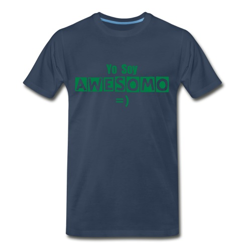 Soy Awesomo =) - Men's Premium T-Shirt