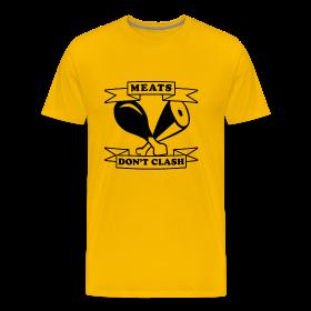 NEW Meats Don't Clash T-Shirt (Men's) ~ 1850