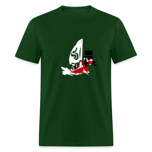 Link on a Boat - Men's T-Shirt