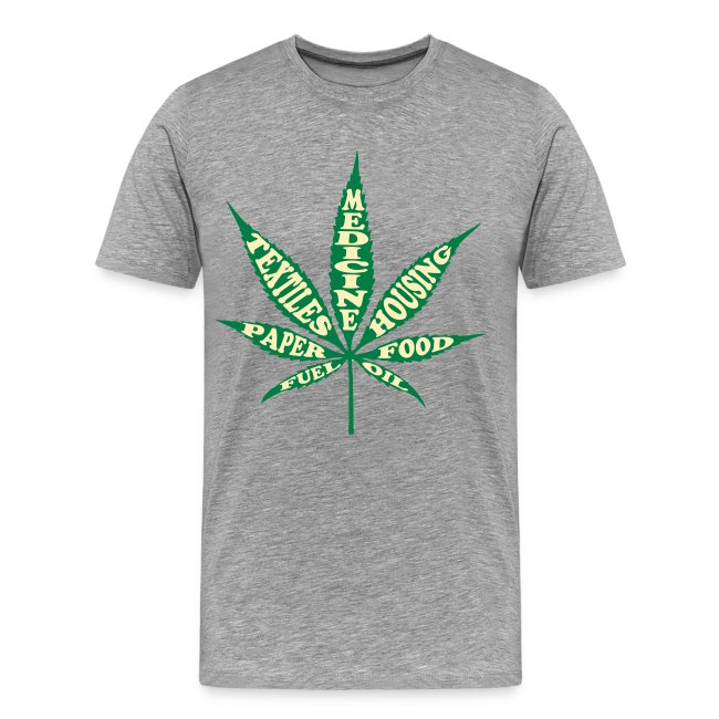 2e7f534a1f45 The Northern Wisconsin NORML Store | Uses for Hemp T-shirt - Mens ...