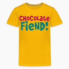 chocolate fiend! Kids' Shirts