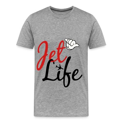 Jet Life For Life - Men's Premium T-Shirt