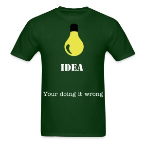 idea - Men's T-Shirt