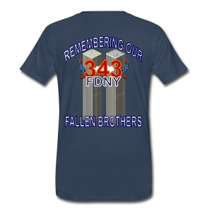 Remebering 343 - Men's Premium T-Shirt