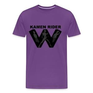 Kamen Rider W Team Tee - Men's Premium T-Shirt