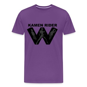 Kamen Rider W Team Tee - Men's Premium T-Shirt