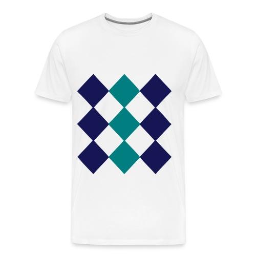 diamonds - Men's Premium T-Shirt