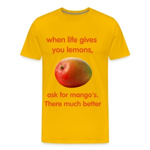 mangos - Men's Premium T-Shirt