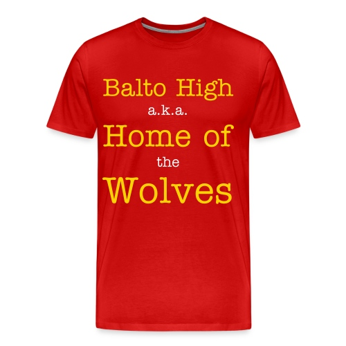 Balto High T-Shirt for Men - Men's Premium T-Shirt
