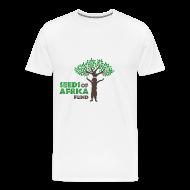 T-Shirts ~ Men's Premium T-Shirt ~ Changing Lives Through Education  T Shirt