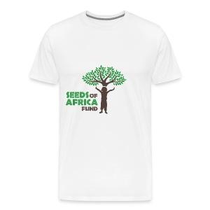 Changing Lives Through Education  T Shirt  - Men's Premium T-Shirt