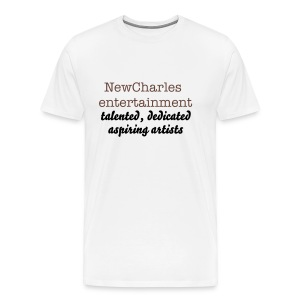 NewCharles Entertainment talented, dedicated, aspiring artists - Men's Premium T-Shirt