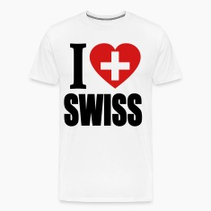 I Love Swiss T-Shirt