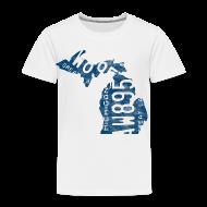 Baby & Toddler Shirts ~ Toddler Premium T-Shirt ~ Michigan Plate State