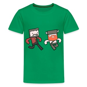 Kids Tee: Hey Yogscast - Kids' Premium T-Shirt