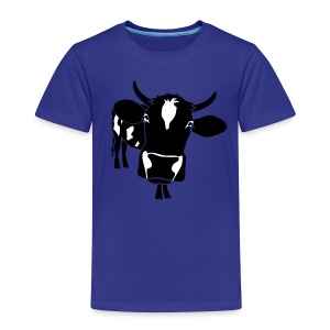 animal t-shirt cow bull ox milk farmer farm country cows dairy beef steak cook bbq - Toddler Premium T-Shirt