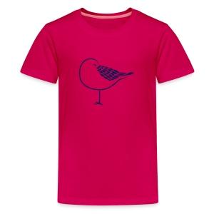 animal t-shirt sleeping bird early dove wings seagull feather sleep - Kids' Premium T-Shirt