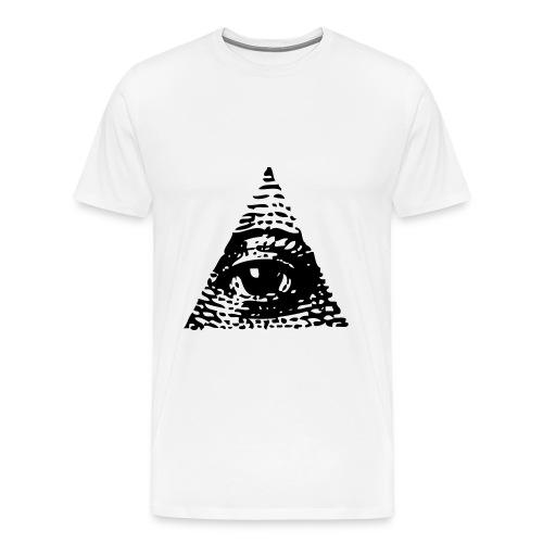 real eyes , realize , real lies - Men's Premium T-Shirt