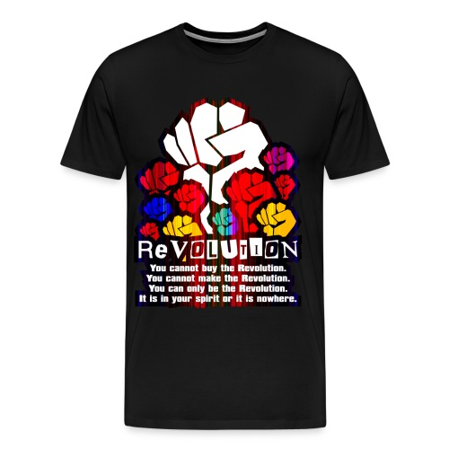 Revolution 1 men - Men's Premium T-Shirt
