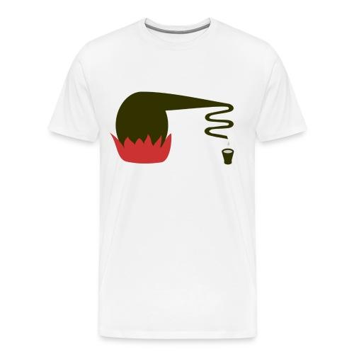 Moonshining men - Men's Premium T-Shirt