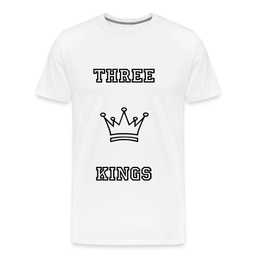 Three Kings Simple Tee - Men's Premium T-Shirt