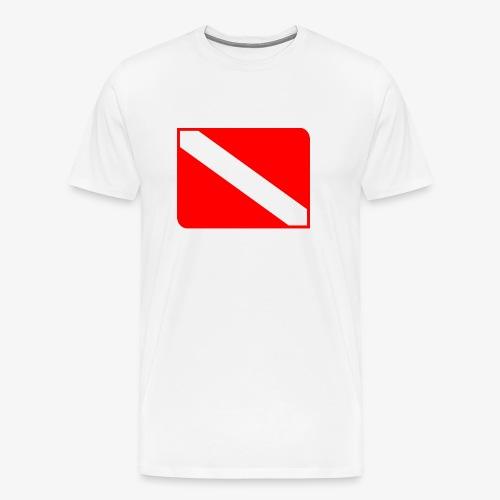 Scuba Dive Symbol - Men's Premium T-Shirt