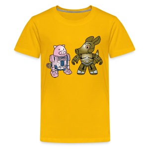 Star Wars: Squiggly and Aardvark - Kids' Premium T-Shirt