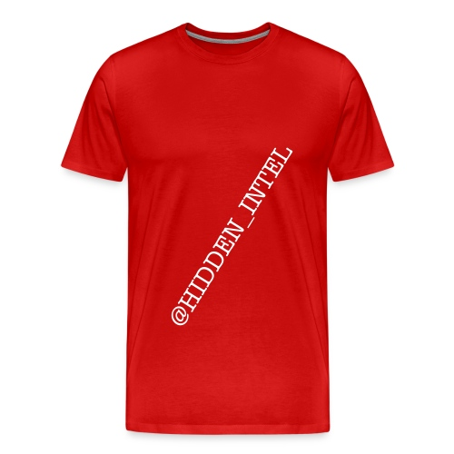 HIDDEN INTEL T-SHIRT - Men's Premium T-Shirt