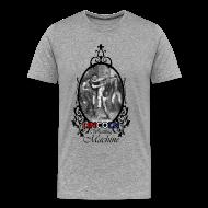 T-Shirts ~ Men's Premium T-Shirt ~ Abraham Lincoln Wrestling Machine