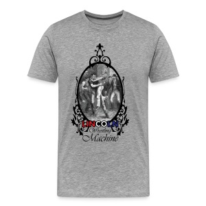 Abraham Lincoln Wrestling Machine - Men's Premium T-Shirt