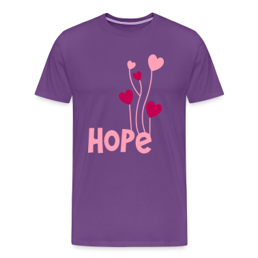 hope with beautiful love heart balloons T-Shirts