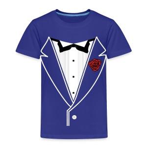 Classy Kids Tuxedo - Toddler Premium T-Shirt