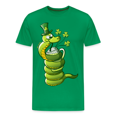 Saint Patrick's Day Snake T-Shirts