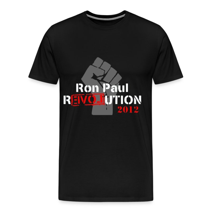 Ron Paul Revolution 2012 T Shirt Crossing Concepts