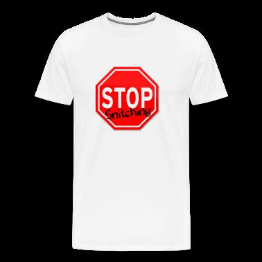 STOP Snitching - Men's