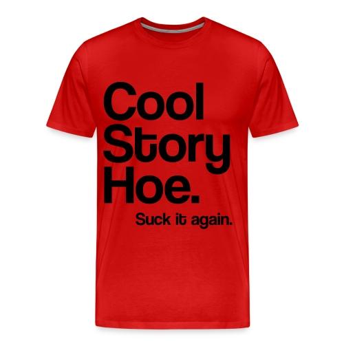 cool story hoe - Men's Premium T-Shirt