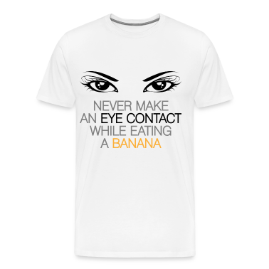 Eye Contact 1 (dd)++ T-Shirts