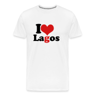 T-Shirts ~ Men's Premium T-Shirt ~ I Love Lagos