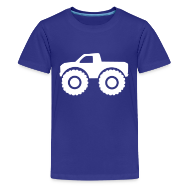 Monster truck Kids' Shirts