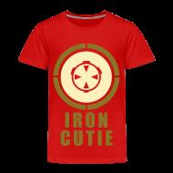 Baby & Toddler Shirts ~ Toddler Premium T-Shirt ~ Iron Cutie