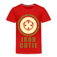 Baby & Toddler Shirts ~ Toddler Premium T-Shirt ~ Iron Cutie