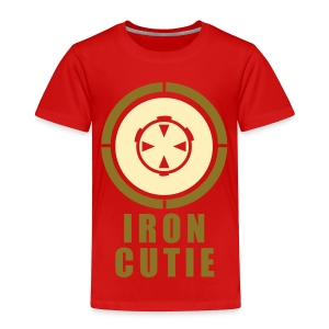 Iron Cutie - Toddler Premium T-Shirt