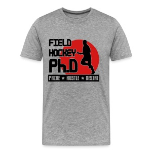 Field Hockey PH.D Men's Heavyweight T-Shirt - Men's Premium T-Shirt