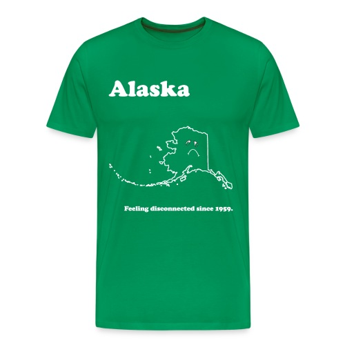 Alaska - Feeling Disconnected - Men's Premium T-Shirt