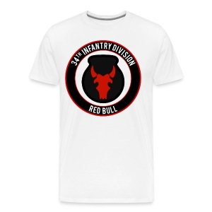 34th Infantry Red Bull - Men's Premium T-Shirt