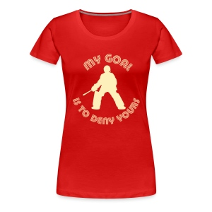 My Goal Is To Deny Yours Women's Plus Size T-Shirt - Women's Premium T-Shirt