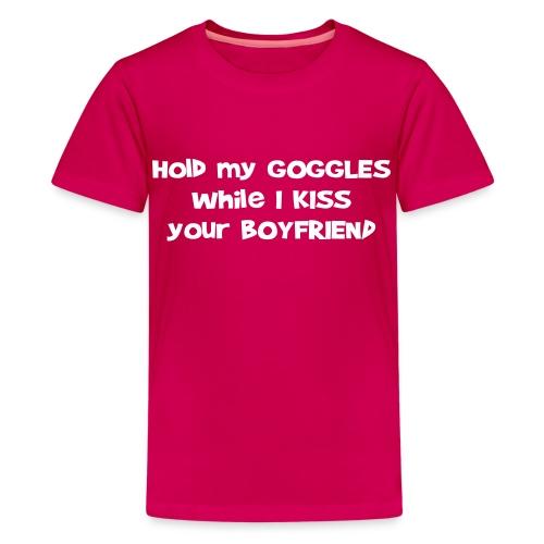Hold My Goggles - Children's T-Shirt - Kids' Premium T-Shirt