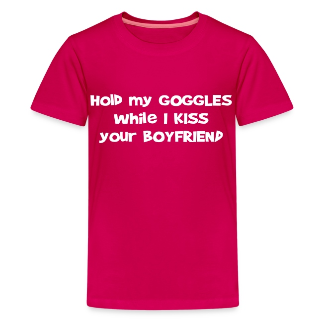 Hold My Goggles - Children's T-Shirt