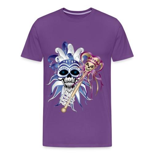 Jester Skull - Men's Premium T-Shirt