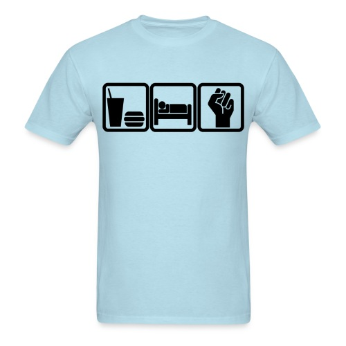 Eat/Sleep/Occupy - Men's T-Shirt